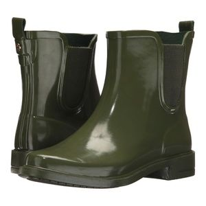 Tory Burch Chelsea Stormy Rain Bootie Boots